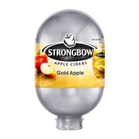 Strongbow Apple CIder Gold